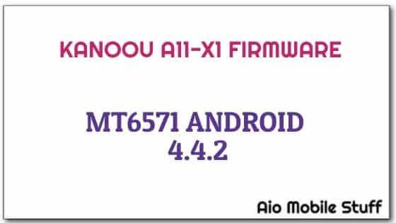 Kanoou A11-X1 Firmware