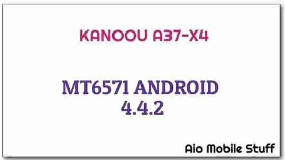 Kanoou A37-X4 Firmware