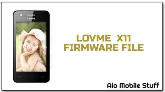 Lovme X11 Firmware