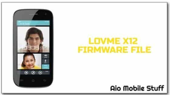 Lovme X12 Firmware