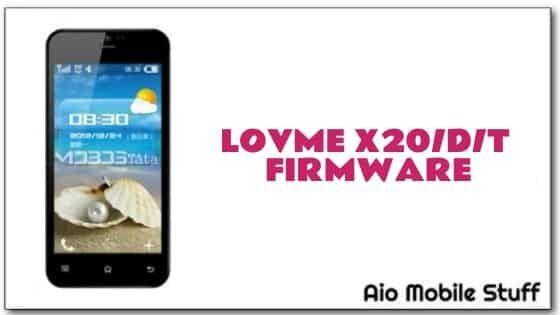 Lovme X20DT Firmware