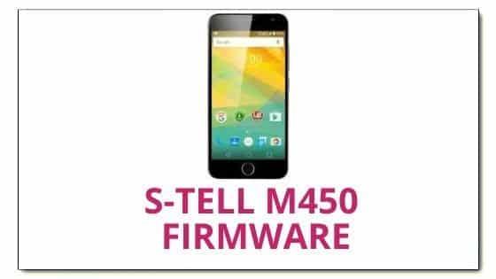S Tell M450 Firmware