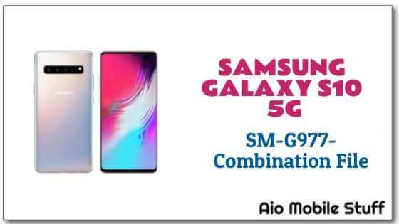 Combination File] Samsung Galaxy S10 5G (SM-G977) | Aio Mobile Stuff