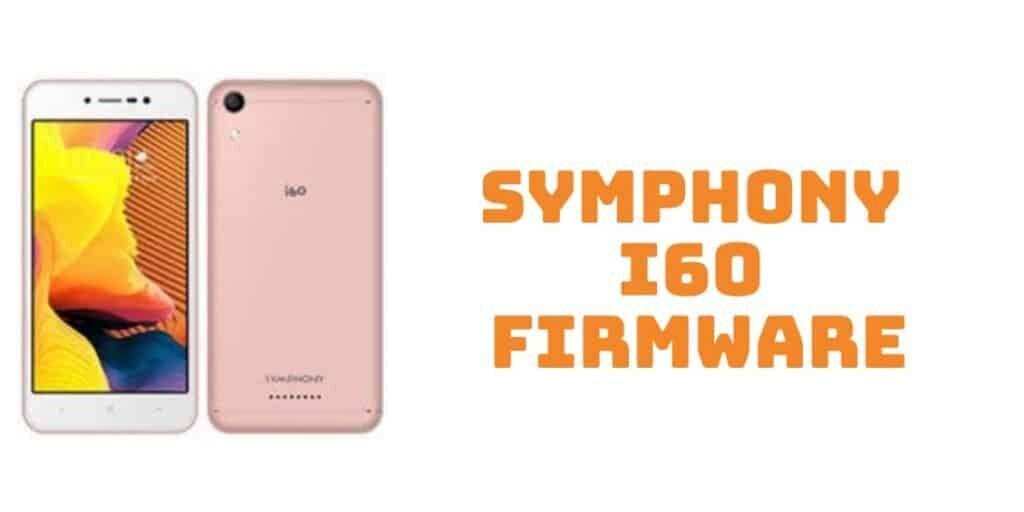 Symphony i60 Firmware