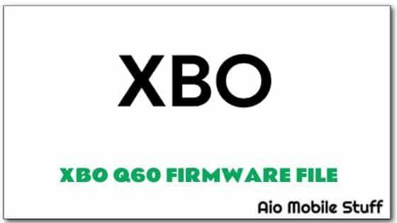 XBO Q60 Firmware