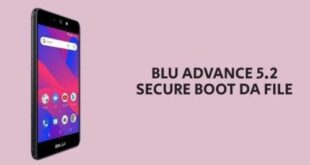BLU Advance 5.2 Secure Boot DA File