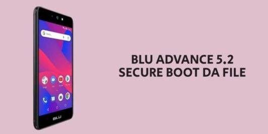 BLU Advance 5.2 Secure Boot DA File
