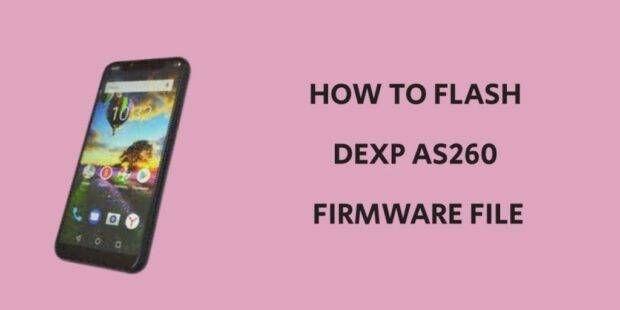 Dexp AS260 Firmware