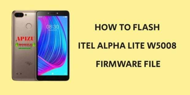 Itel Alpha Lite W5008 Firmware