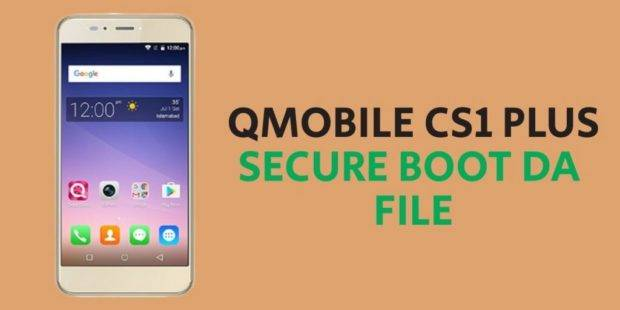 QMobile CS1 Plus Secure Boot DA File