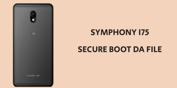 Symphony i75 Secure Boot DA File