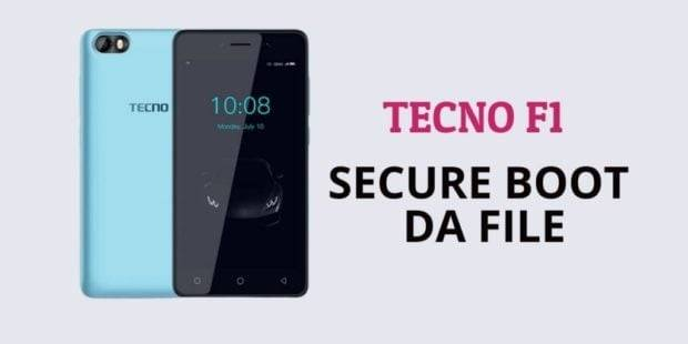 Tecno F1 Secure Boot DA File
