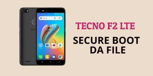 Tecno F2 LTE Secure Boot DA File [Format Single Partition
