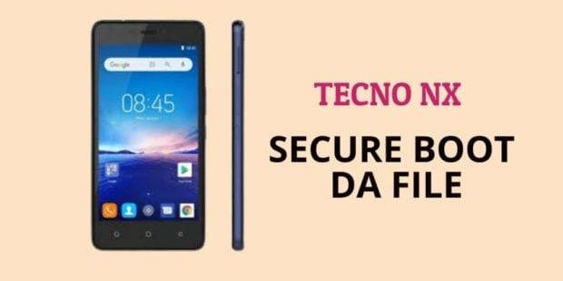 Tecno NX Secure Boot DA File