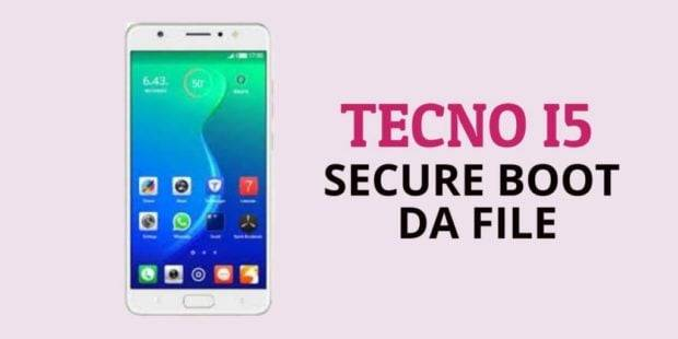 Tecno i5 Secure Boot DA File [Format Single Partition] | Aio Mobile