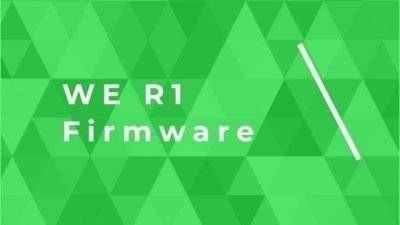 WE R1 Firmware