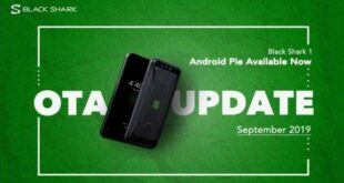 Xiaomi Black Shark received Android Pie Update