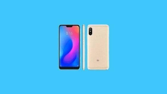 Xiaomi Mi A2 Lite Firmware