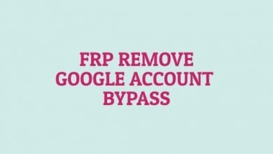 Frp Remove - Google Account Bypass