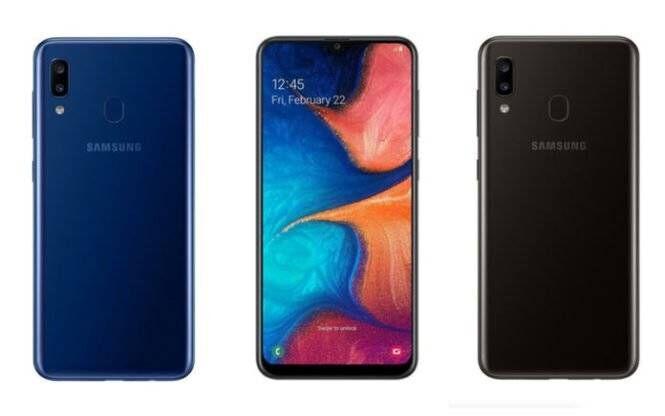 Screenshot Samsung Galaxy A20e