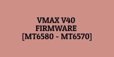 Vmax V40 Firmware
