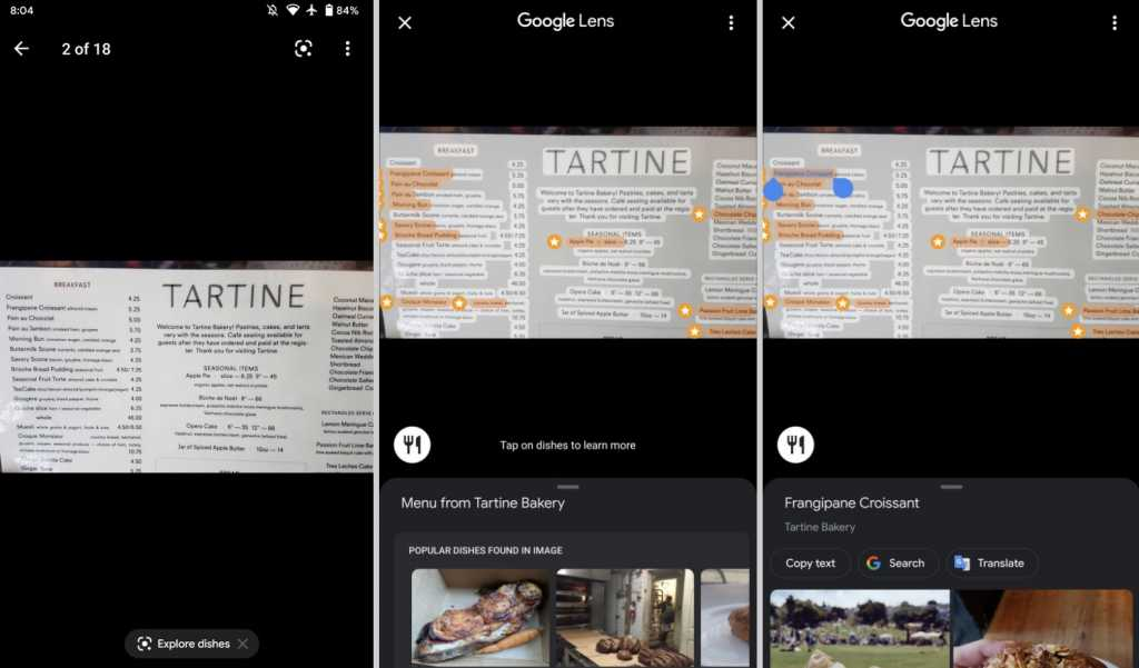 Google Maps Will Allow You To Scan Restaurant Menus With Google Lens