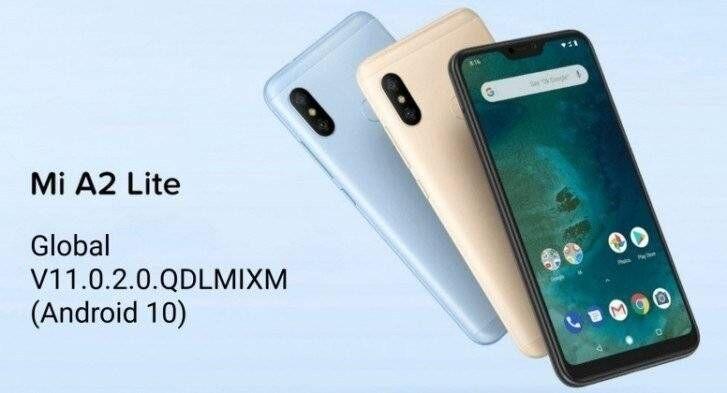 Xiaomi Mi A2 Lite - Xiaomi Mi A2 Lite Starts Receiving Android 10 Update