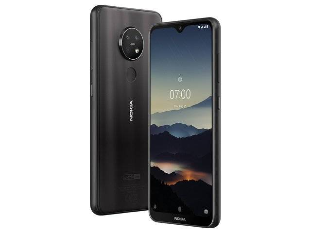Nokia 7.2 is Updated