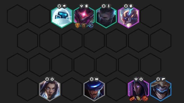 6 Chronos + 2 Snipers