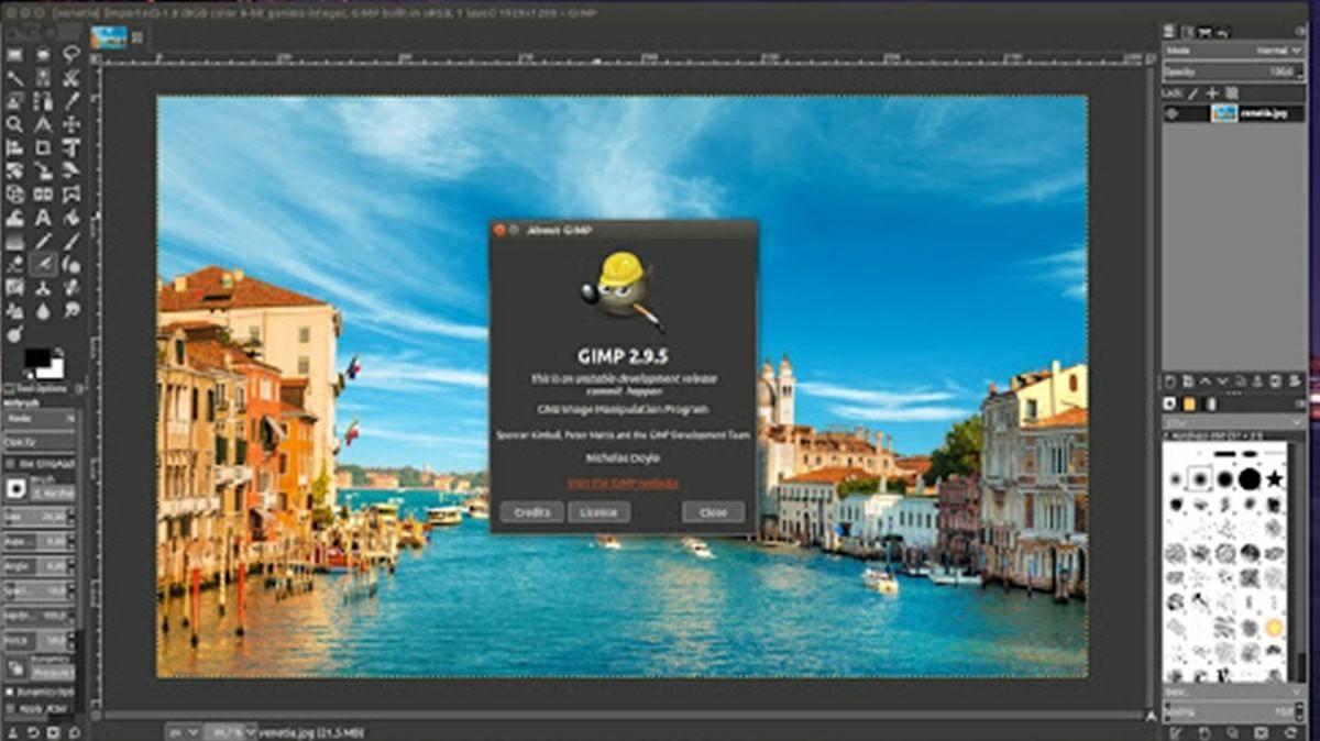 GIMP: a powerful photo editor