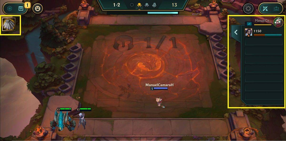 Your base in Teamfight Tactics