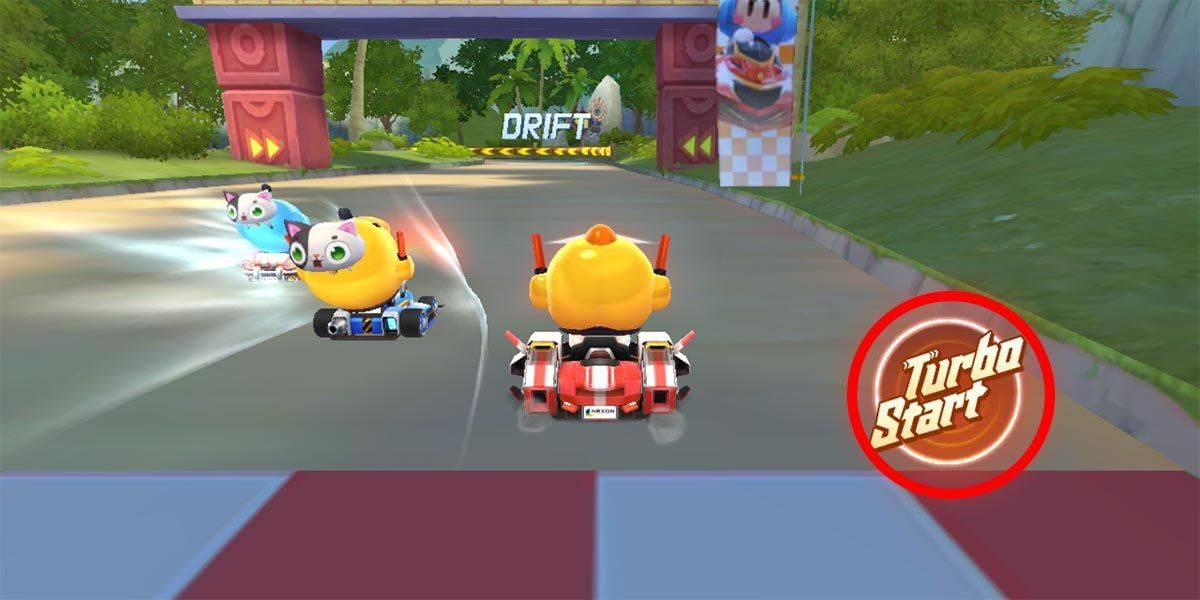 Turbo, Drift and Nitro impulses to gain advantage