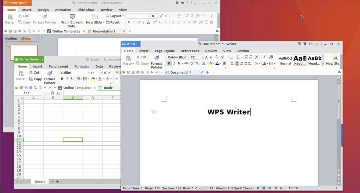 WPS Office: another excellent office suite