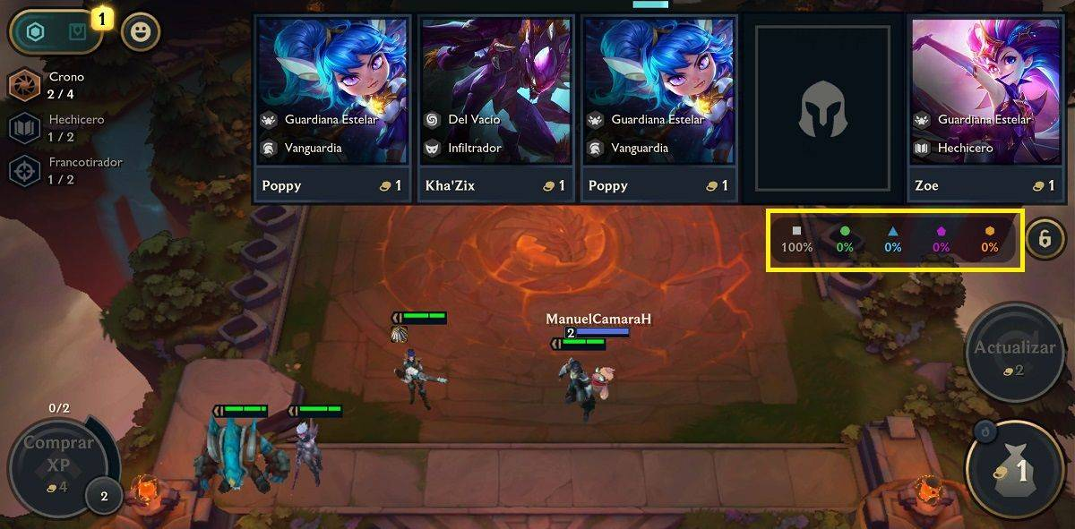choosing the champion who has the best item