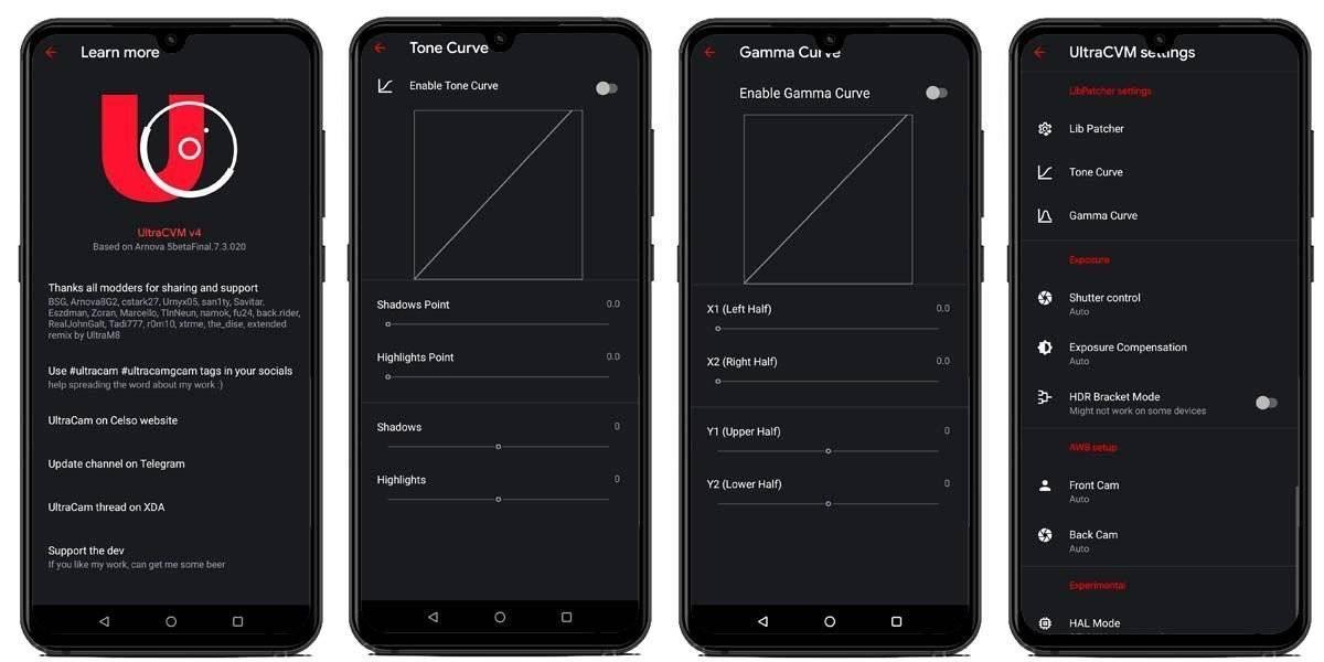 GCam UltraCVM Mod Features