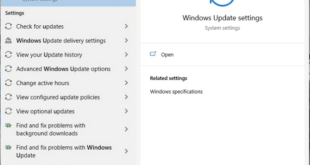 How to update Windows manually