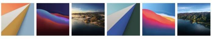 Preview macOS Big Sur wallpaper Full HD