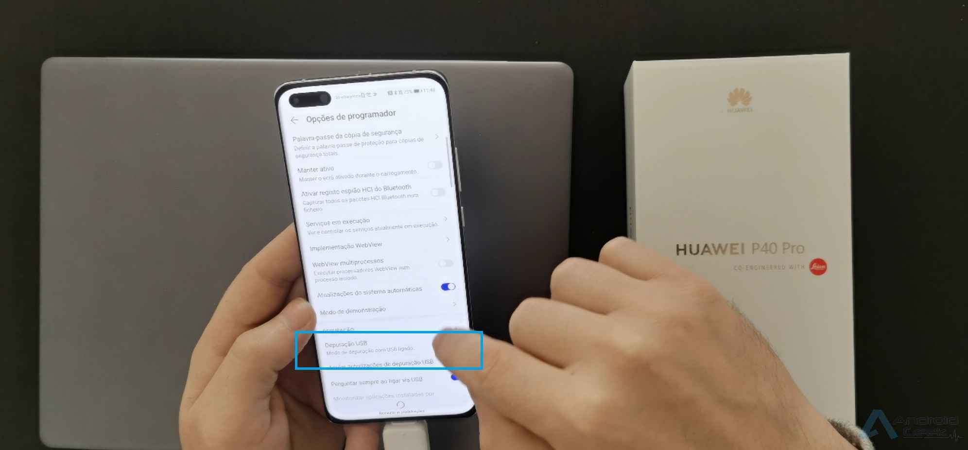 How to add a Google account to Huawei P40 Pro after installing GMS? 6