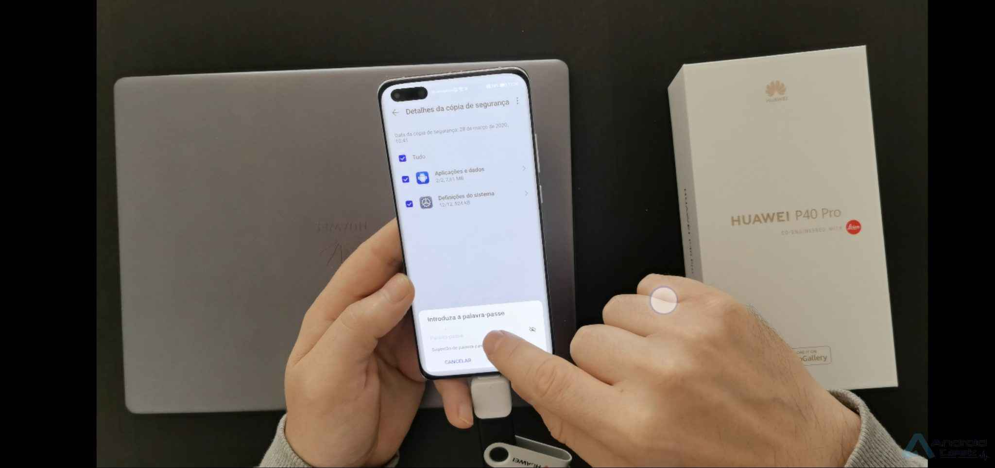 How to add a Google account to Huawei P40 Pro after installing GMS? 2