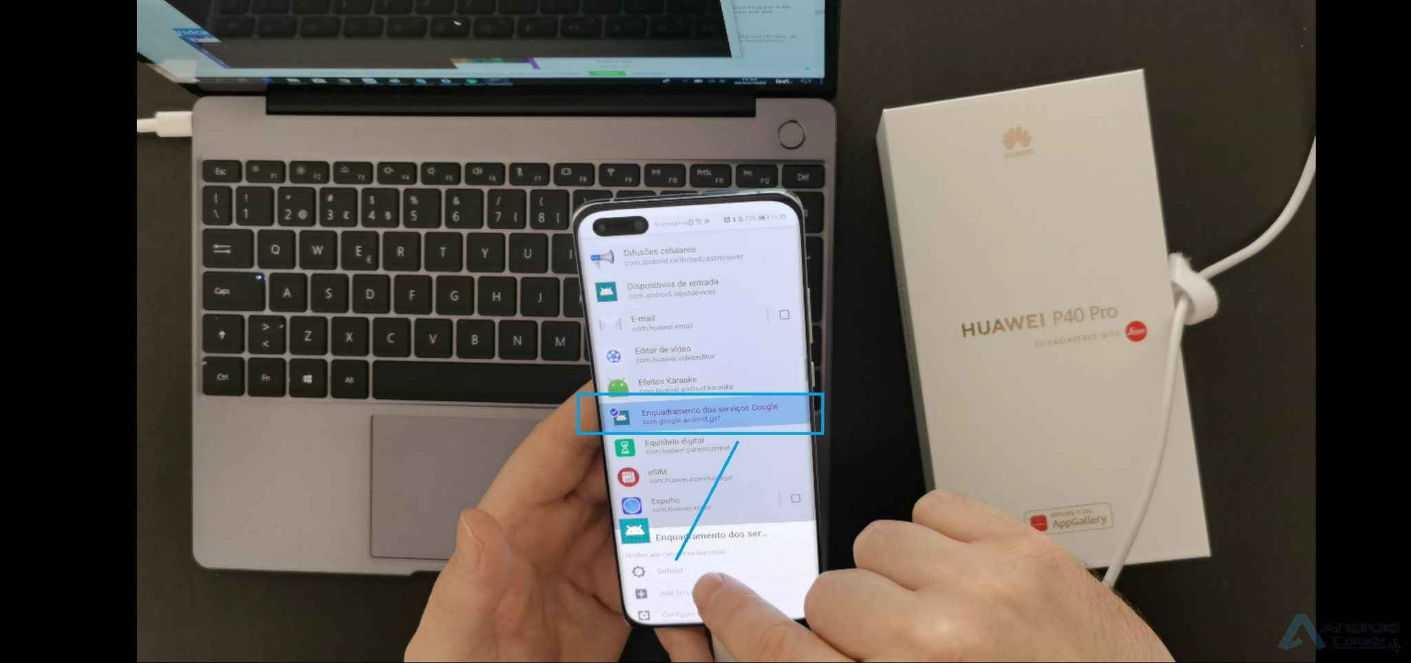How to add a Google account to Huawei P40 Pro after installing GMS? 9