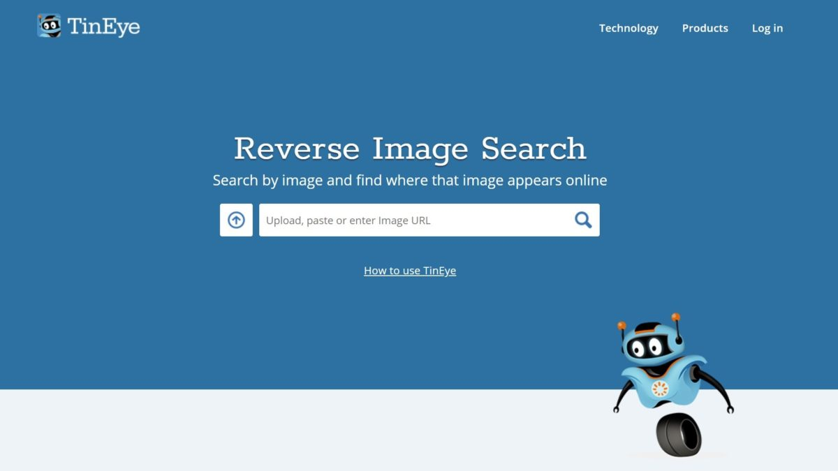 TinEye reverse image search on Facebook