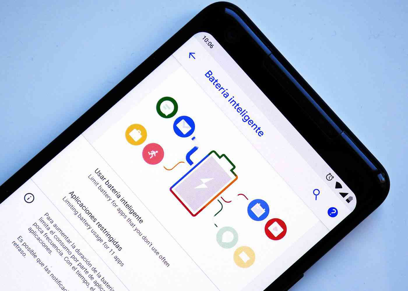 Smart Battery on Android P DP2