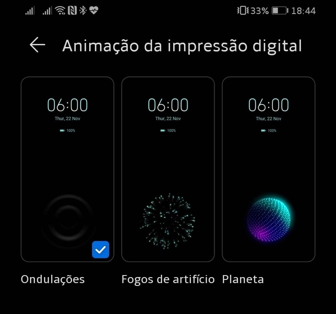 EMUI 10.1 tip: How to change the fingerprint animation 1