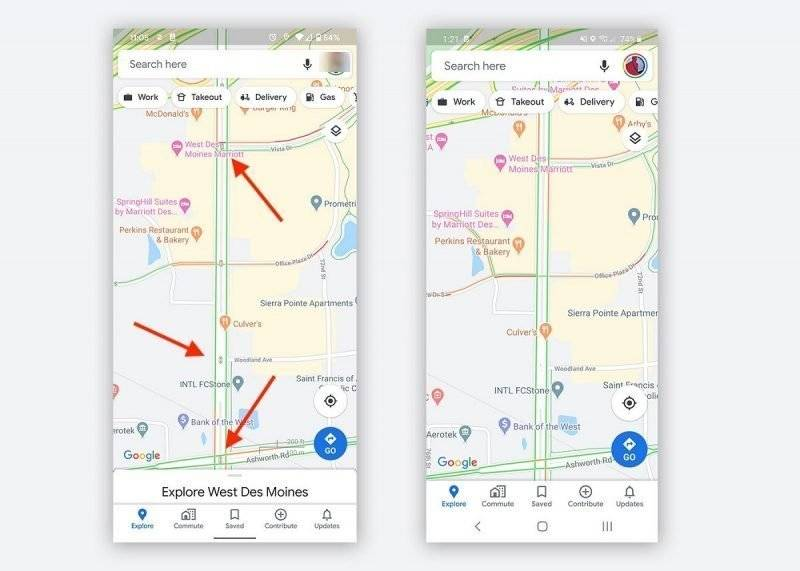 Google Maps Now Starts Showing Traffic Lights