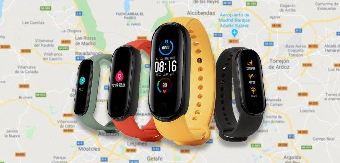 Install Google Maps on your Xiaomi Mi Band 5