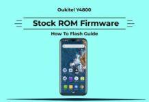 Oukitel Y4800 Firmware
