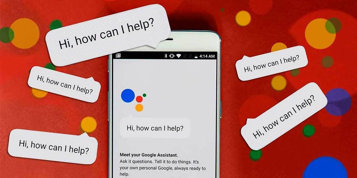 Sending audios from the Google assistant