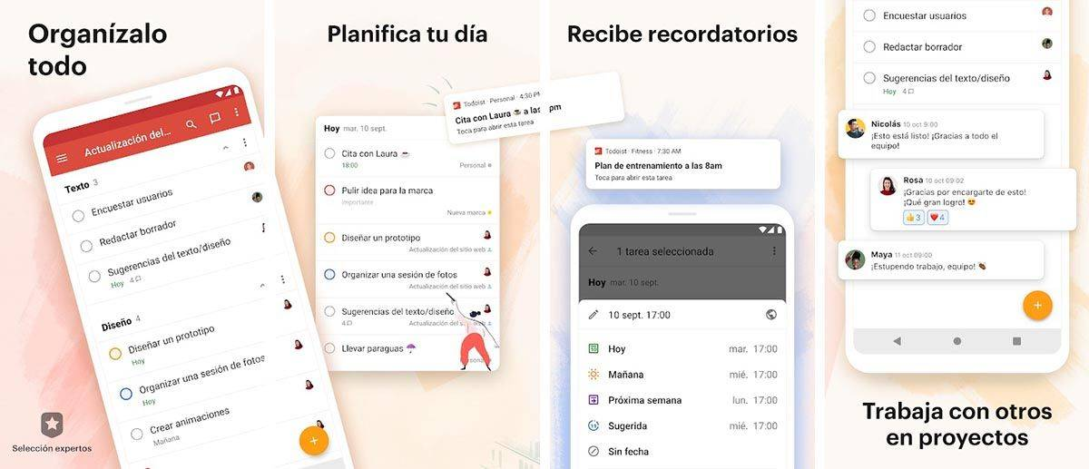 Todoist, so you don't lose track of all your tasks