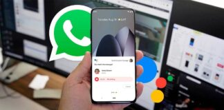 WhatsApp audios from the Google assistant