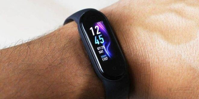 Updates Xiaomi Mi Band 5 with a new function that makes it more advanced
